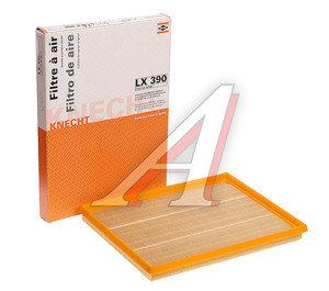 Фильтр воздушный OPEL MAHLE LX390, 25062467