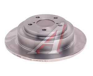 Диск тормозной SUBARU Forester 2 задний (1шт.) BREMBO 08.6897.14, DF3092, 26700-FE080