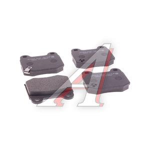 Колодки тормозные SUBARU Impreza (01-07) задние (4шт.) HSB HP5205, GDB3350, 26696-FE001