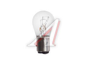 Лампа 12V P21/4W BAZ15d двухконтактная NARVA 178813000, N-17881, А12-21+4
