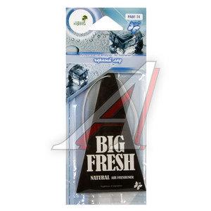 Ароматизатор подвесной пластина (лед черный) Big Fresh FKVJP PABF-74 \Big Fresh, PABF-74