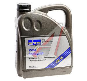 Масло моторное SRS VIVA 1 ECOSYNTH синт.4л SRS SAE0W40, 7380