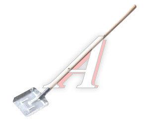 Лопата совковая нержавеющая сталь с деревянным черенком ИСТОК Сборка, 936071/912494/014652