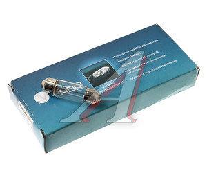 Лампа 24V C10W SV8.5-8 36мм двухцокольная NORD YADA А24-С10, 800068, А24-10