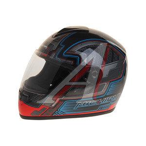 Шлем мото (интеграл) MICHIRU Metal Grey MI 136 M, 4650066000801
