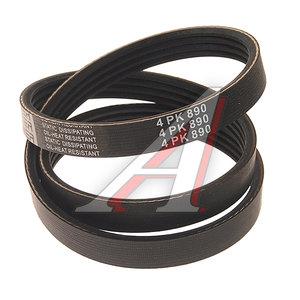 Ремень приводной поликлиновой 4PK890 KORTEX KDB037, 4PK890