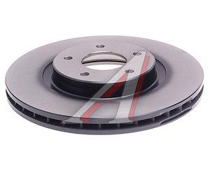 Диск тормозной JAGUAR FX (08-),XJ (97-) передний (1шт.) TRW DF4219S