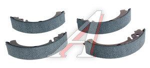 Колодки тормозные ВАЗ-2101 задние (4шт.) FINWHALE VR311, 2101-3502090
