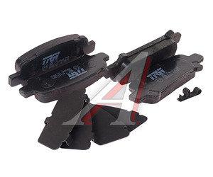 Колодки тормозные SUBARU Forester, Legacy, Impreza задние (4шт.) TRW GDB3223, 26696-FC020