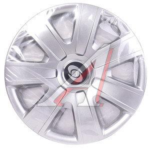 Колпак колеса R-15 серый комплект 4шт. 325 R-15