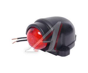 Фонарь габаритный и контурный 12/24V (с козырьком, светодиод) красный ЕВРОСВЕТ ГФ3.19LED