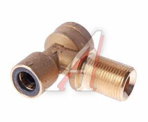 Соединитель трубки ПВХ,полиамид d=12мм (внутр.резьба) М22х1.5,(наруж.резьба) М20х1.5 тройник CAMOZZI 9410 12-M22X1.5-M20X1.5-S01, 9410 12-M22X1,5-M20X1,5-S01-C
