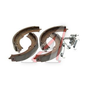 Колодки тормозные MERCEDES Sprinter (06-) задние барабанные (4шт.) TRW GS8758