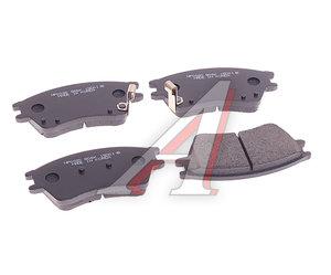 Колодки тормозные HYUNDAI Elantra XD (1.5) (00-) передние (4шт.) HSB HP0020, GDB895, 58115-2D000