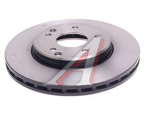 Диск тормозной MERCEDES C (W202),E (W210) передний (1шт.) TRW DF4180, A2104212412