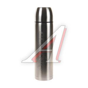 Термос 1.2л узкая горловина, сталь, пробка без кнопки SPUTNIK MX1200