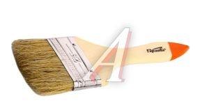 """Кисть плоская 2.5"""" натуральная щетина деревянная ручка Slimline SPARTA 824355"""