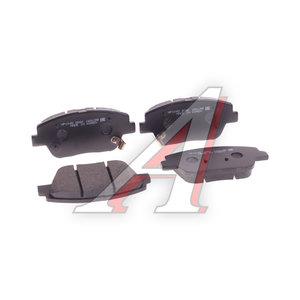 Колодки тормозные HYUNDAI Sonata (09-) (2.4) KIA Optima (11-) передние (4шт.) HSB HP1045, 58101-3QA50
