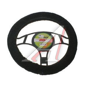 Оплетка руля (M) черная меховая Lamber PSV 114430, 114430 PSV