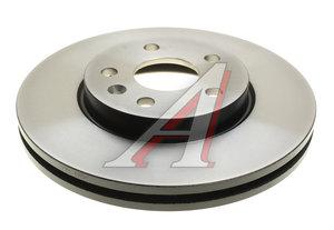 Диск тормозной CHEVROLET Cruze OPEL Astra J (R15) передний (1шт.) TRW DF7475, 13502045/0569073