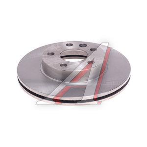 Диск тормозной VW T4 (96-) передний (1шт.) KORTEX KD0207, DF2809, 7D0615301C