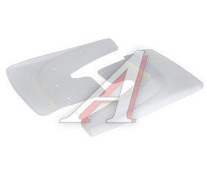 Брызговик универсальный белый комплект 2шт. AZARD БР000001, BR000001