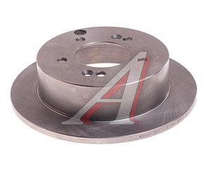 Диск тормозной HYUNDAI Tucson (04-) (2WD),Sonata NF KIA Sportage (06-) (2WD) задний (1шт.) VALEO PHC R1044, DF4281, 58411-39600