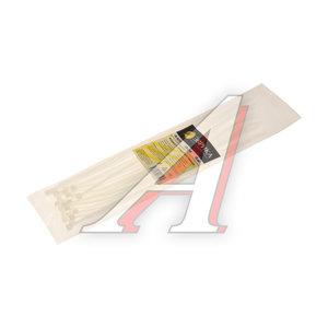 Хомут-стяжка 250х4.0 пластик белый (25шт.) ЭВРИКА ER-04252, CHS-4x250W-25