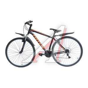 """Велосипед 29"""" 21-ск. черный LUDI TOTEM T15B213-29ER B, T15B213-29ER"""