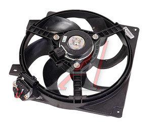 Вентилятор ВАЗ-1118 КАЛИНА электрический в сборе с кожухом ВИС 1118-1300025, 11180130002500