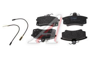 Колодки тормозные ВАЗ-2110 передние (4шт.) LUCAS GDB1446, 2110-3501080