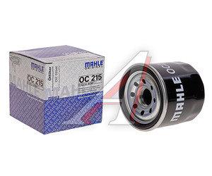 Фильтр масляный DAEWOO Matiz (98-) CHEVROLET Aveo (03-) (1.2) (замена на OC1253) MAHLE OC215, 25183779