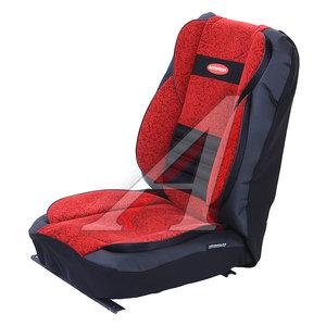 Авточехлы универсальные экокожа черно-красные (11 предм.) Multi Comfort AUTOPROFI MLT-1105GV BK/RD (M)