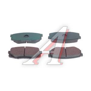 Колодки тормозные TOYOTA Land Cruiser задние (4шт.) OE 04466-60160, 2465301, 04466-60160/04466-60120/04466-0C010