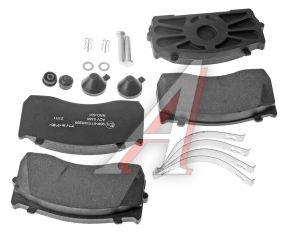 Колодки тормозные ГАЗ-3310 Валдай передние/задние (4шт.) ALLIED NIPPON ACV038K