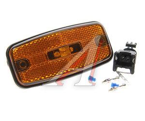 Фонарь габаритный HYUNDAI County со световозвращающим диодом 24V оранжевый ЕВРОСВЕТ ГФ 1.25