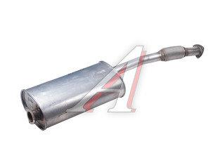 Глушитель УАЗ-315195 Хантер ЗМЗ-409 ЕВРО-3 нержавеющая сталь НТЦ МСП 315195-1201010