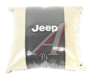 Подушка автомобильная JEEP экокожа PINGO M074, P-M074