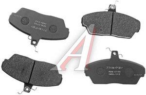 Колодки тормозные ГАЗ-3110,3302 передние (4шт.) ALLIED NIPPON ADB0795, 3302-3501170
