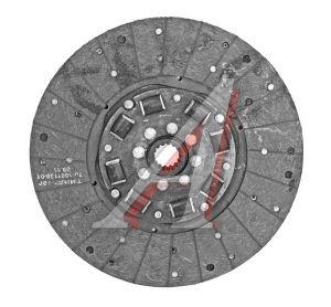 Диск сцепления МТЗ-2022 ведомый безасбестовый элл.навитой БЗТДиА 2022-1601130, 2022-1601130-А