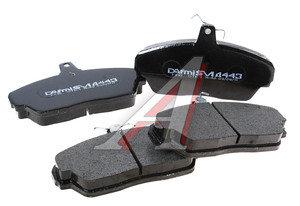 Колодки тормозные ГАЗ-3110,3302 передние (4шт.) DAFMI Semi Metallic 3302-3501170/Д 443 П, 443SM, 3302-3501170