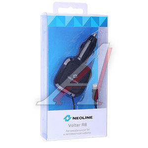 Устройство зарядное в прикуриватель 1 USB + кабель iPhone (5-) NEOLINE NEOLINE Volter R8