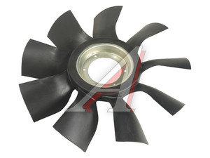 Вентилятор КАМАЗ-ЕВРО 640мм с выгнутым диском в сборе (дв.CUMMINS ISBe185-300) ТЕХНОТРОН 020004622ВД, 21-292