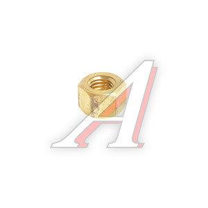 Гайка М8х1.25х6.8 ВАЗ-2101-2107,2121,21213 трубы приемной латунная 2101-1203019