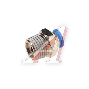 """Фитинг для пластиковых трубок 1/4"""" 4мм с наружной резьбой ROCK FORCE RF-SPC04-02"""