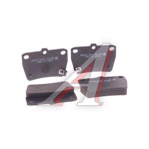 Колодки тормозные TOYOTA Rav 4 (08.00-) задние (4шт.) HSB HP8508, GDB3279, 04466-42050