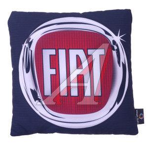 Подушка автомобильная FIAT (35х35см) антистрессовая черная MAGIC BALLS CK-00001