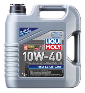Масло моторное MoS2-LEICHTLAUF п/синт.4л LIQUI MOLY LM SAE10W40 1917, 84196