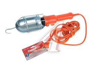 Лампа переносная 220V с выключателем провод 4м оранжевая CAMELION Camelion W-001 YJD-A-1, YJD-A-1