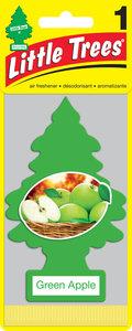 Ароматизатор подвесной пластина (яблоко зеленое) фигура Елочка CAR FRESHNER CF-10316